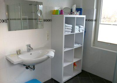 Bad mit WC/DU, rollstuhlgeeignet