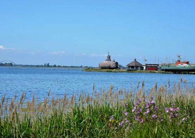 Burger Binnensee mit U-Boot-Museum, Fischereihafen, Silo-Climbing…