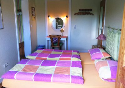 Ferienwohnung mit Doppelbetten