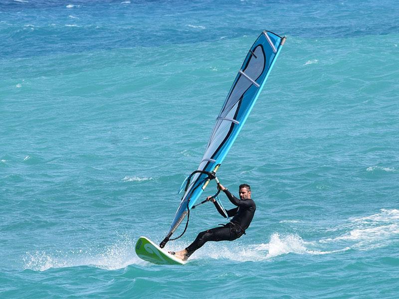 Speedsurfen in Orth